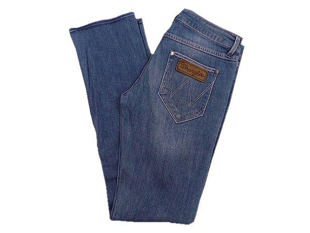 WRANGLER LIA spodnie damskie W25 L28 pas 74 cm skrocone