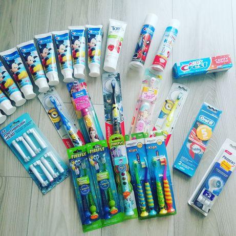 Зубна паста Crest дитяча,Зубна електрична щітка, Зубна щітка