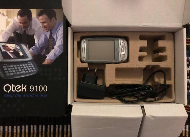 Telemóvel Qtek 9100 com caixa