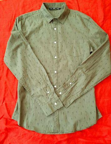 Продам мужскую рубашку Bershka. Размер Л