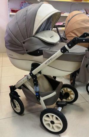 Детская коляска универсальная 2 в 1 RikoBranoEcco 18 baby pink (Рико