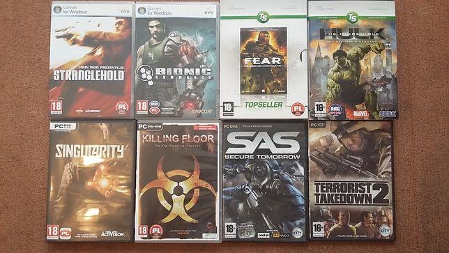 Zestaw gier na PC oryginalne jak nowe
