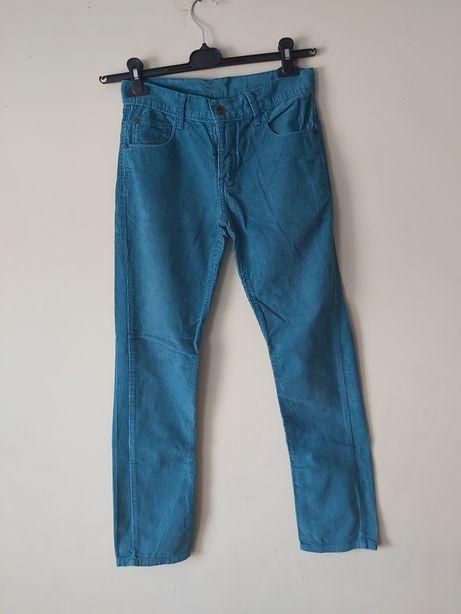 Chłopięce spodnie sztruks 152 C&A
