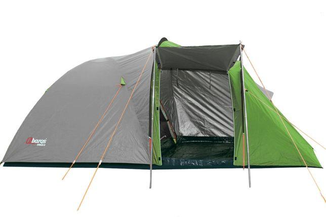 Палатка большая Abarqs STELLA-3 двухcлойная новая проклеенные швы