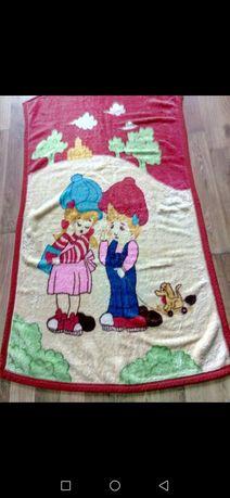 Махровое детское одеяло,плед,покрывало Двухстороннее