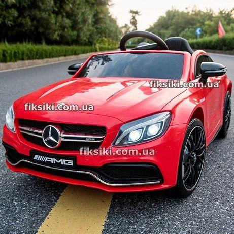 Детский электромобиль 4010 RED Mercedes, Дитячий електромобiль