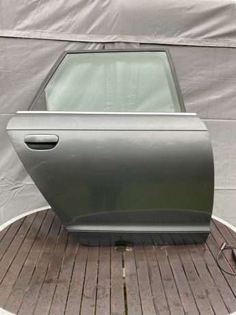 Drzwi tył tylne prawe lewe LZ7S Audi A6 C6 Avant