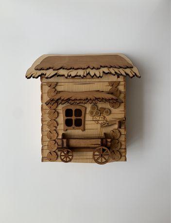 Деревянная ключница (дерев'яна ключниця)