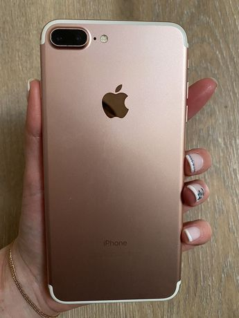 IPhone 7+ 32 gb (айфон), Rose Gold.