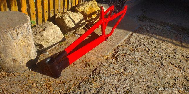 велосипедная рама dirt street trial magelan tucana