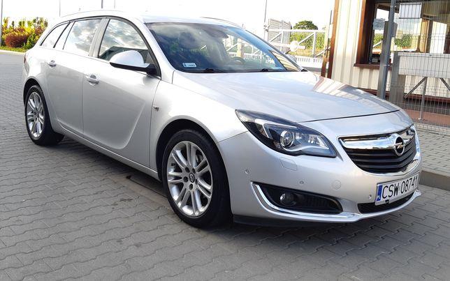 Opel Insignia 2.0CDTI 97500km 2015r Jak nowy,Bogate wyposażeniePRYWATN