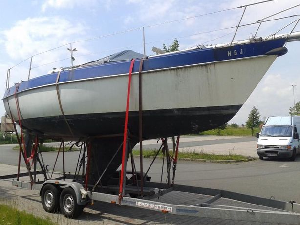 Jacht żaglowy morski lub spacerowy Alpa A27 sil. diesla Volvo Penta