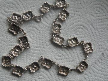masywny srebrny naszyjnik 830 k244