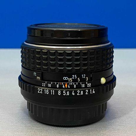 SMC Pentax-M 50mm f/1.4 (Adapt.EOS R/Nikon Z/Fuji/MFT/Sony E)