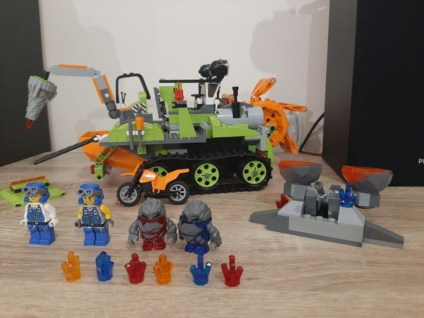 Zamiatarka kryształów lego power miners 8961
