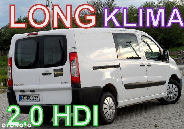 Peugeot EXPERT  Jumpy 2.0Hdi_120KM__KLIMA_LONG__3 Osoby_Nowe Sprzegło 6 biegów