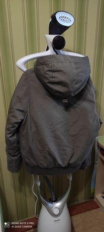 Пуховик куртка мальчику HsM оригинал С-ка euro36р. 165снатуральный пух