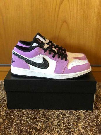 Nike Air Jordan 1 Low SE White Purple