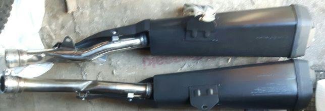Kawasaki ZZR 1400 (12r) - tłumik wydech Prawy/Lewy.Stan jak nowe. Oryg