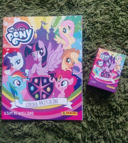"NAKLEJKI My Little Pony ""Panini""+karty"