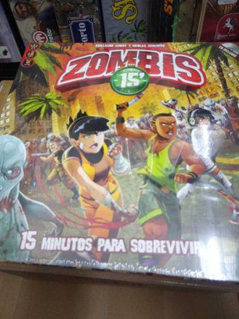 jogo de tabuleiro Zombie's 15