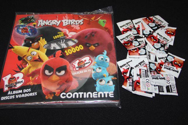 Album Angry Birds (selado) + 30 saquetas