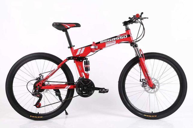 """Велосипед складной 26"""" 17"""" красный, оплата частями моно/приват 6 мес"""
