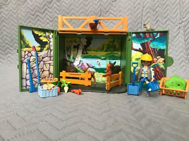 Playmobil Składany Zestaw Dokarmiania Leśnych Zwierząt