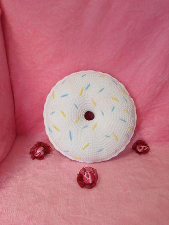 Декоративная подушка - пончик