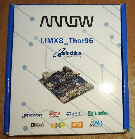 THOR96 NXP i.MX 8 SBC Komputer ARROW 2GB LPDDR4 4x Cortex-A57 1.5GHZ