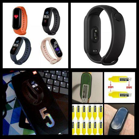 Nowy Smartband M5 fitness opaska smartwatch jak Xiaomi Mi Band 5 4 M4