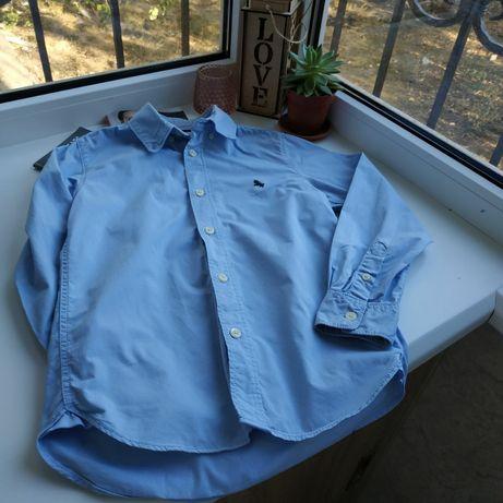 Рубашка LOGG, в отличном состоянии, плотная х/б ткань, 134см
