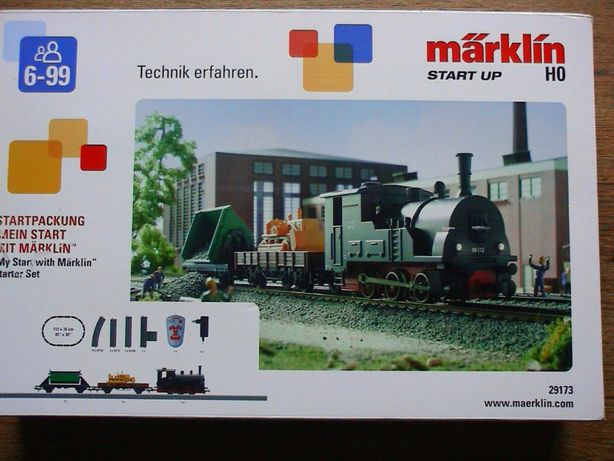 Marklin 29173 start up HO kolejka tory zestaw