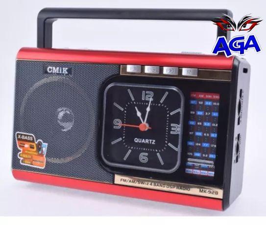 "Radio Przenośne FM AM USB SD MP3 Akumulator Latarka ""MEIER M-U41"""