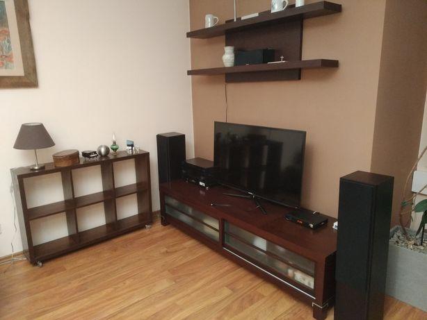 Zestaw mebli, szafka RTV, komoda, szafka wisząca, stolik i 3 szafki