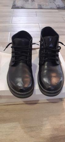 Кожаные ботинки 46 размер новые