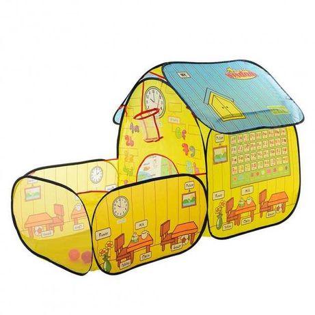 Палатка домик с манежем детская