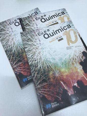 Livros do 10.o ano - cada bloco / disciplina 6€