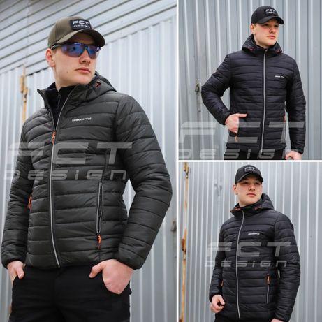 ТОП! Куртка демисезонная непромокаемая\Куртка городская хаки и черная