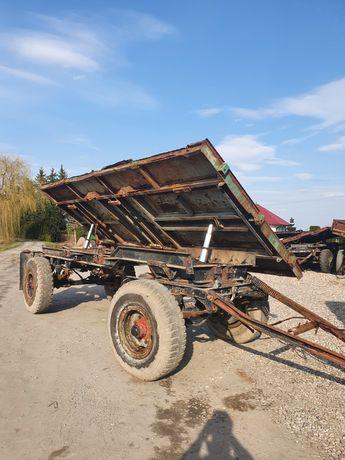 Przyczepa wywrotka hw 80.11 hl ifa d55 Niemka 8 ton