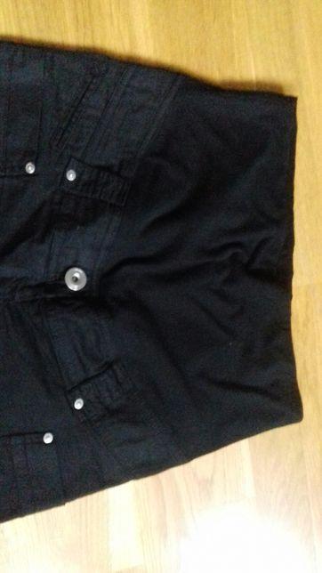 Spodnie spodenki ciążowe H&M roz M- 38 czarne