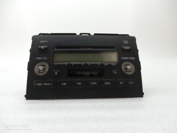 Auto-Rádio (Cd) Toyota Land Cruiser Prado (_J12_)