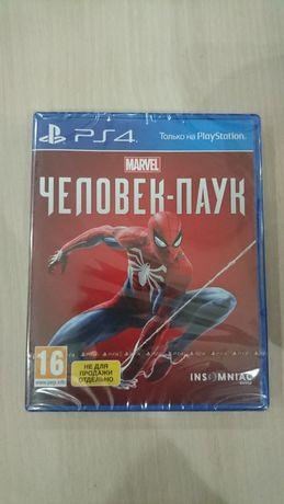 Spiderman (человек паук) для ps 4, новый.