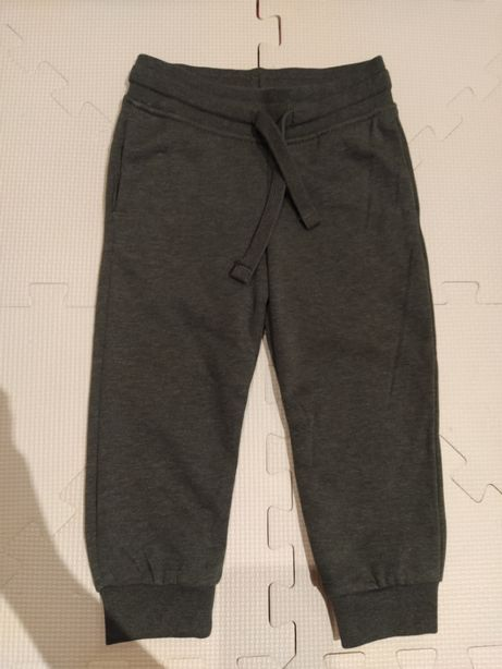 Spodnie dresowe khaki h&m 92