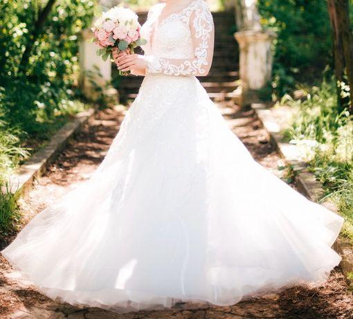 Продаю отличное свадебное платье