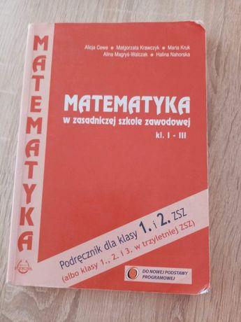Podręcznik szkolny do matematyki -szkoła zawodowa
