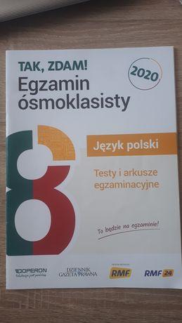 Tak, zdam! Egzamin ośmioklasisty Język polski