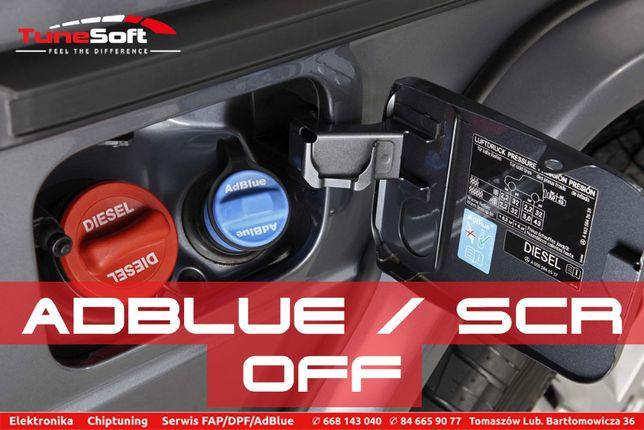 Usuwanie Wyłączanie AdBlue SCR - Samochody Osobowe Dostawcze Traktory