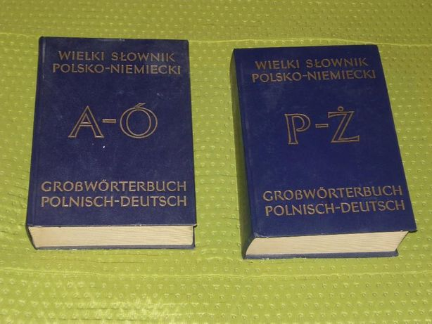 Wielki słownik polsko-niemiecki 2 tomy
