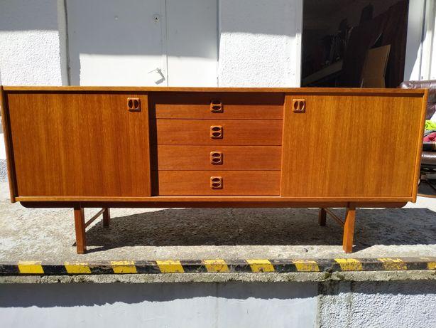 Komoda sideboard teak Dania lata 60/70